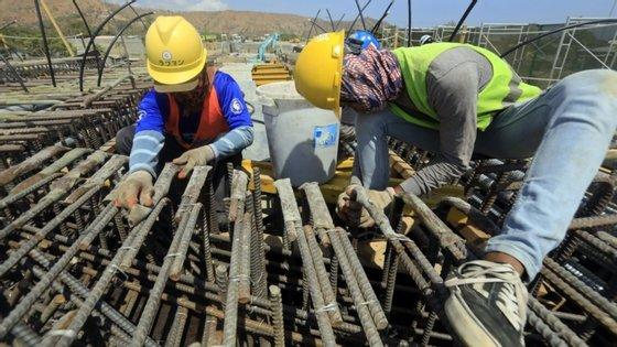 Globalmente, o índice de produção na construção civil em Cabo Verde registou um crescimento de 8,5% em 2019, face a 2020, segundo dados anteriores do INE