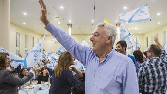 A meses das eleições legislativas regionais, Artur Lima, que é também líder da bancada do CDS no parlamento açoriano, participou numas jornadas parlamentares, na ilha das Flores, acompanhado pelo líder nacional do partido, Francisco Rodrigues dos Santos
