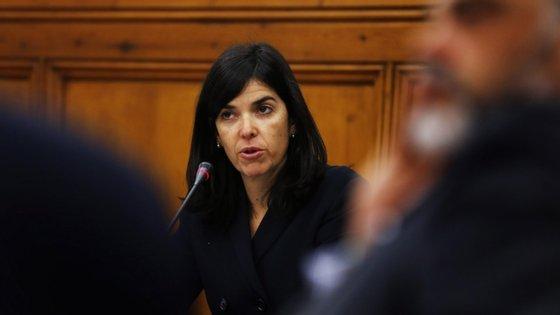 Margarida Matos Rosa lidera a Autoridade da Concorrência. TIAGO PETINGA/LUSA