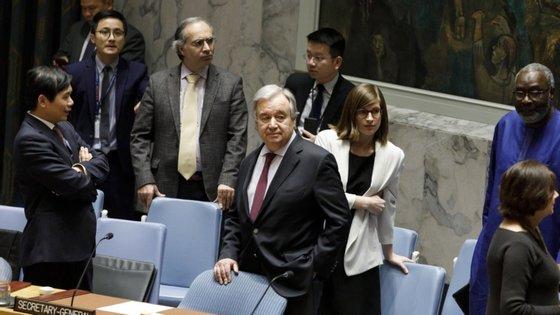 António Guterres discursou em direto, de forma virtual, para a Fundação Nelson Mandela, uma instituição da África do Sul, na comemoração do nascimento do histórico ativista pelos direitos humanos