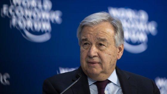 António Guterres é o secretário-geral das Nações Unidas desde 2017