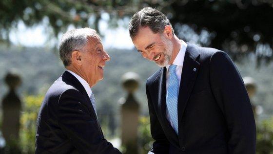 O encontro partiu de um convite feito por Felipe VI nas cerimónias, a 1 de julho, de reabertura da fronteira entre Portugal e Espanha, e a Assembleia da República autorizou 10 dias depois a deslocação