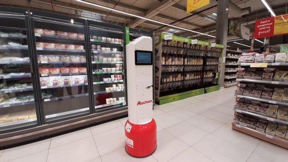 O TASC está a passear pelo corredores do Auchan de Alfragide, antigo Jumbo, desde junho