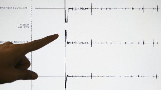 "O tremor de terra foi sentido a ""centenas de quilómetros"" de distância"