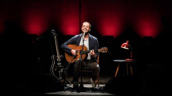 """António Zambujo ficou encarregue de atuar na primeira de oito noites de concertos, do ciclo """"Noites no Palácio"""""""