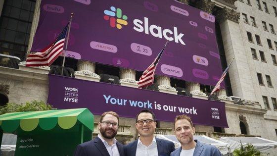 O Slack entrou em bolsa em 2019