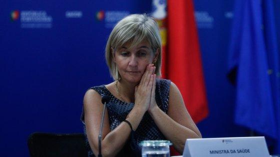 A ministra da Saúde revelou que a maioria dos doentes internados com Covid-19 em Portugal se encontram em Lisboa e Vale do Tejo