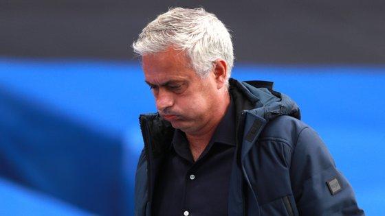 José Mourinho conseguiu somar 14 pontos nos últimos 18 disputados, o que permitiu segurar a Liga Europa na diferença de golos