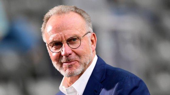 """Karl-Heinz Rummenigge, presidente do Bayern de Munique, afirma que painel responsável da UEFA não fez um """"grande trabalho"""""""
