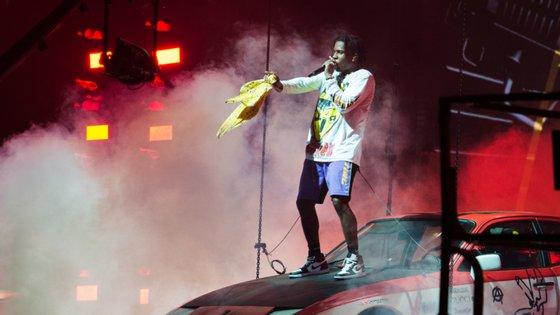 O rapperA$AP Rocky esteve em Portugal no Primavera Sound do Porto, em 2018, e estará também no SBSR