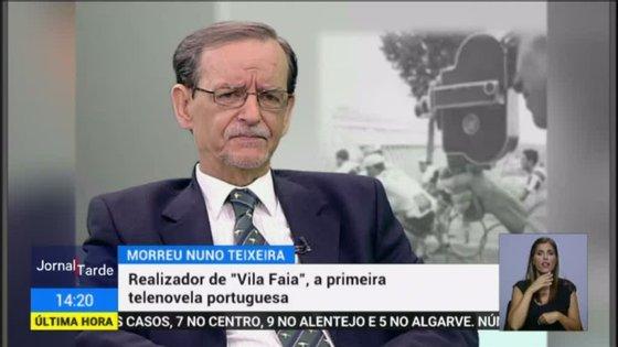 """Herman José, com quem Nuno Teixeira trabalhou por diversas vezes, já reagiu: """"Morreu o histórico realizador de televisão, e meu querido amigo, Nuno Teixeira. O Nuno ocupa um lugar de destaque na galeria dos meus afetos"""""""