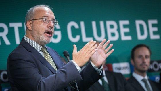 Rogério Alves lidera grupo de trabalho de nove elementos que tem estado a preparar as alterações estatutárias que serão levadas à próxima AG