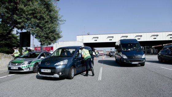 A fronteira de Vilar Formoso é um dos principais pontos de entrada dos emigrantes que regressam a Portugal durante o mês de agosto