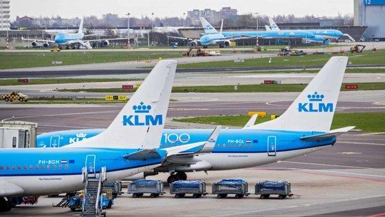 A KLM não exclui a possibilidade de reduzir ainda mais a sua mão-de-obra se o nível de produção até 2021/2022 for ainda inferior às expectativas atuais