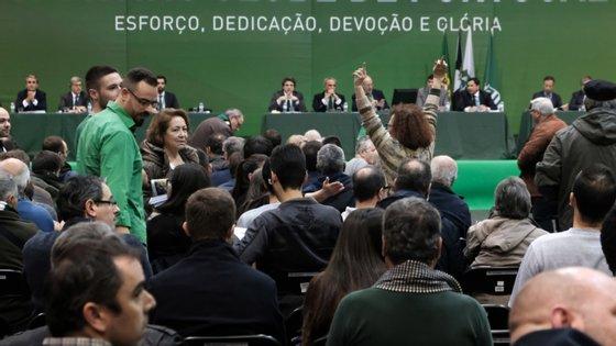 Próxima Assembleia Geral do Sporting vai votar alteração de estatutos, a oitava desde 2011