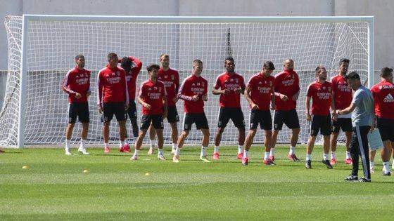 Benfica fez um mini estágio de preparação para a final da Taça de Portugal, o último jogo oficial da temporada