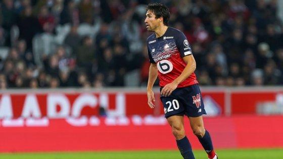 Nico Gaitán jogou nos últimos meses em França, tendo sido pouco utilizado no Lille