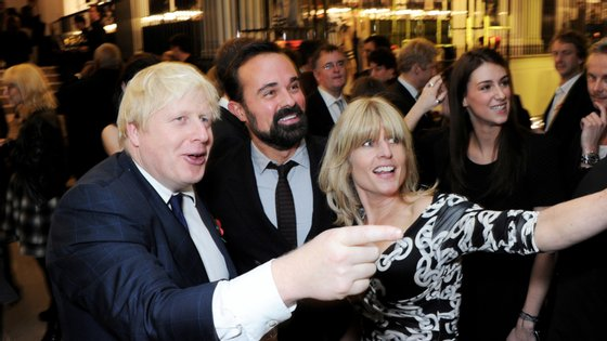Boris Johnson e Evgeny Lebedev conhecem-se desde que Johnson era presidente da câmara de Londres