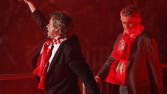Jorge Jesus saiu do Benfica após conquistar o bicampeonato que as águias perseguiam há mais de 30 anos. Depois chegou o tetra com Rui Vitória