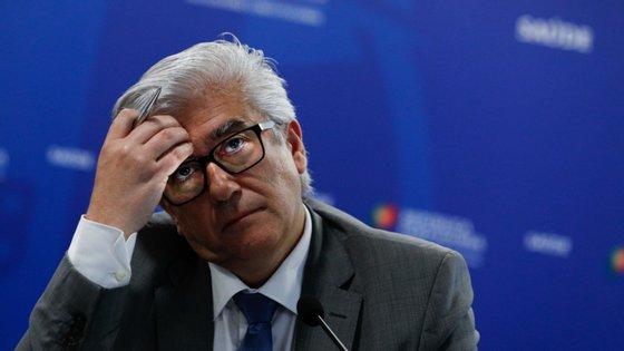 O secretário de estado, António Lacerda Sales, admitiu não ser fácil andar meses a anunciar mortes