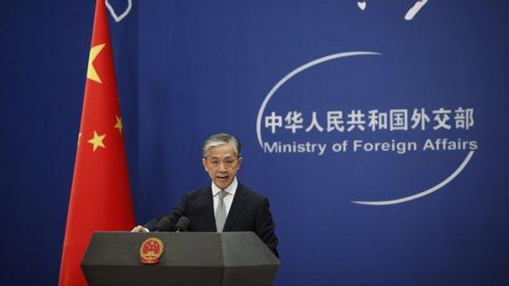 Pequim fez um protesto formal junto das autoridades norte-americanas, segundo Wang