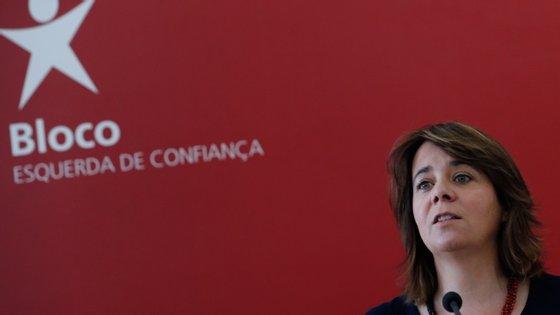 Catarina Martins falava em entrevista à revista Visão por vídeo-conferência