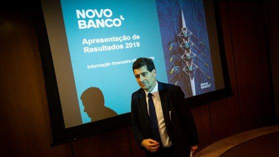 António Ramalho, presidente da comissão executiva do Novo Banco.