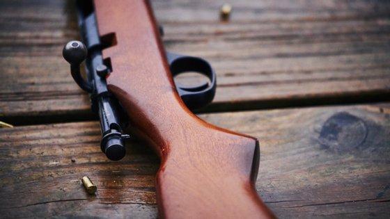 Durante a operação foram apreendidas 13 espingardas, 2.401 cartuchos calibre 12