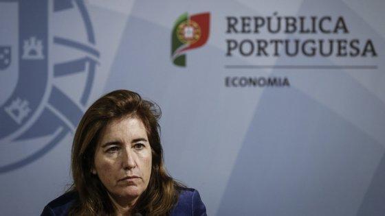 Ministra Ana Mendes Godinho.