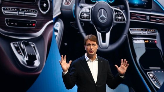 Ola Källenius, o CEO da Daimler