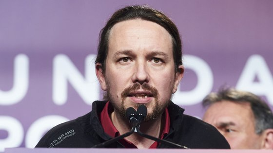 Pablo Iglésias é o líder do Podemos, partido esquerdista que apoia o PSOE no governo espanhol.
