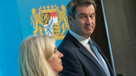 Markus Soder é visto como possível sucessor de Angela Merkel.
