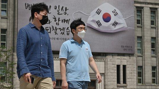 Até ao momento já se registaram 16.346 casos de Covid-19 na Coreia do Sul