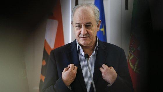 O presidente do PSD falou pela primeira vez após as férias