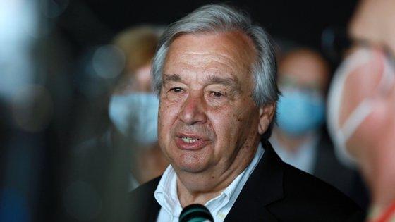 A mensagem de António Guterres vem no último relatório da Convenção Quadro das Nações Unidas sobre a Mudança do Clima