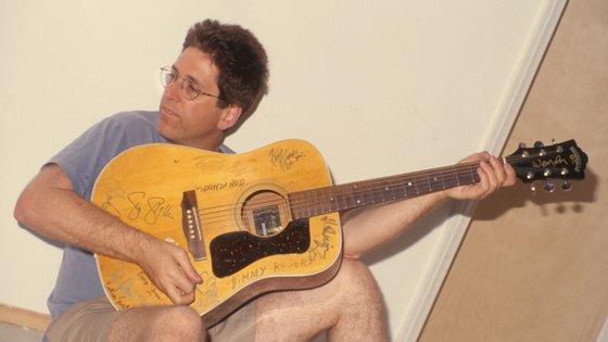 Jack Sherman em Los Angeles, em 1998