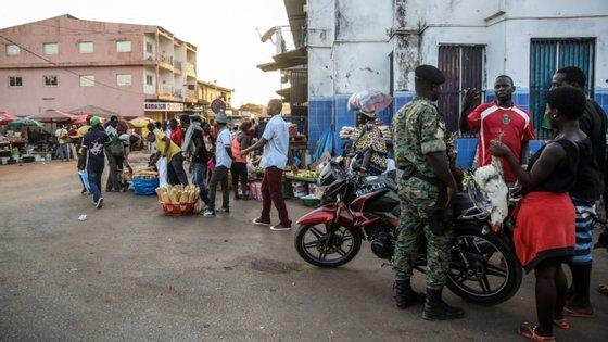 A Guiné-Bissau vive uma crise política desde as eleições presidenciais