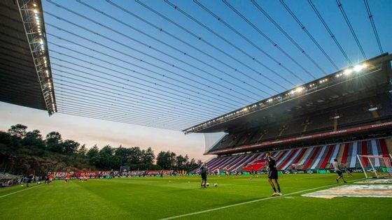 Os minhotos enfrentam os espanhóis do Valladolid no próximo sábado no Municipal de Braga, num jogo de preparação para a próxima temporada