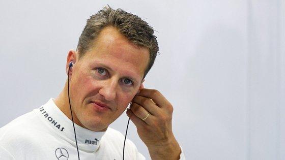 Michael Schumacher foi colocado em coma induzido durante vários meses, antes de continuar a recuperar em casa
