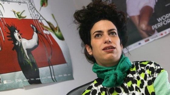 Marlene Monteiro Freitas, 40 anos, nasceu em Cabo Verde, onde cofundou o grupo de dança Compass e é cofundadora da P.OR.K, estrutura de produção sediada em Lisboa