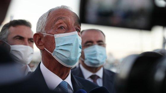 """Marcelo Rebelo de Sousa falava na cerimónia de encerramento da apresentação do documento """"Ambição Agro 2020-30"""""""