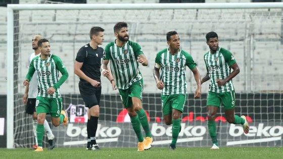 Bruno Moreira evitou a eliminação com um golo já nos instantes finais dos 90 minutos regulamentares