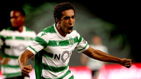 """""""TT"""" fez o seu primeiro golo ao serviço da equipa principal do Sporting, na vitória por 1-0 frente ao Aberdeen"""