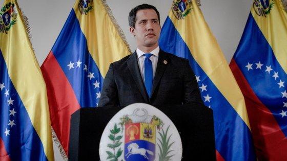O líder da oposição na Venezuela, Juan Guaidó, fez o pedido durante uma intervenção no Conselho Atlântico