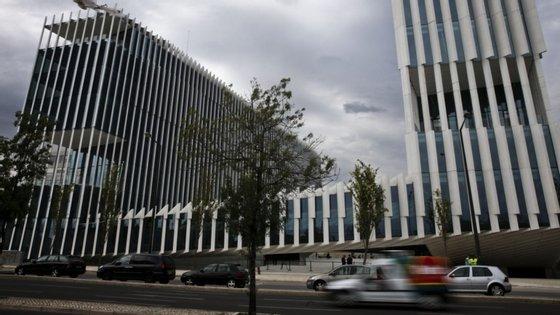 A sede da EDP, na Avenida 24 de Julho, em Lisboa