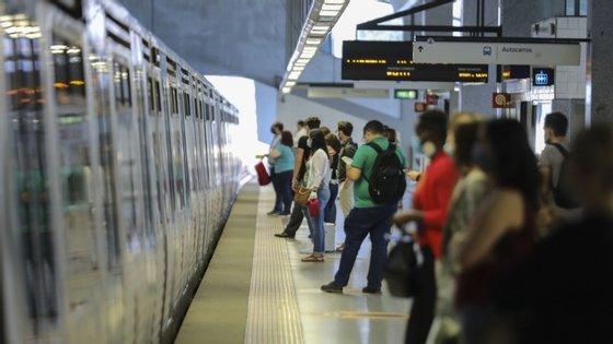 Carlos Humberto destacou que estes resultados estão de acordo com as previsões da AML e que os transportes rodoviários em Lisboa estão já com uma oferta de cerca de 100%