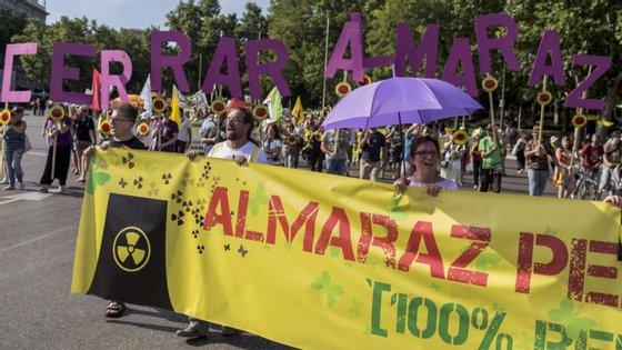 """O dirigente António Minhoto disse esta sexta-feira à agência Lusa que o MIA mantém na agenda a luta """"contra o nuclear"""", nomeadamente contra o funcionamento da central espanhola de Almaraz e também a defesa do rio Tejo"""