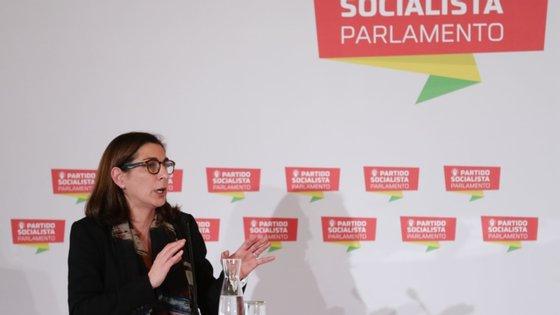 Ana Catarina Mendes, líder parlamentar do PS, é casada com o antigo ministro socialista