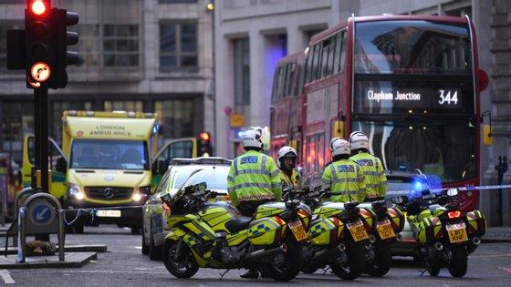 Desde 2012 que nenhum agente policial britânico morria em serviço