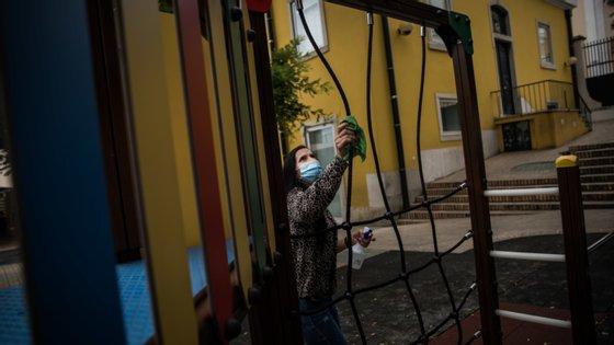 Uma sala do jardim de infância foi encerrada e 20 pessoas ficaram em quarentena